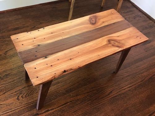Small Barn Wood Coffee Table
