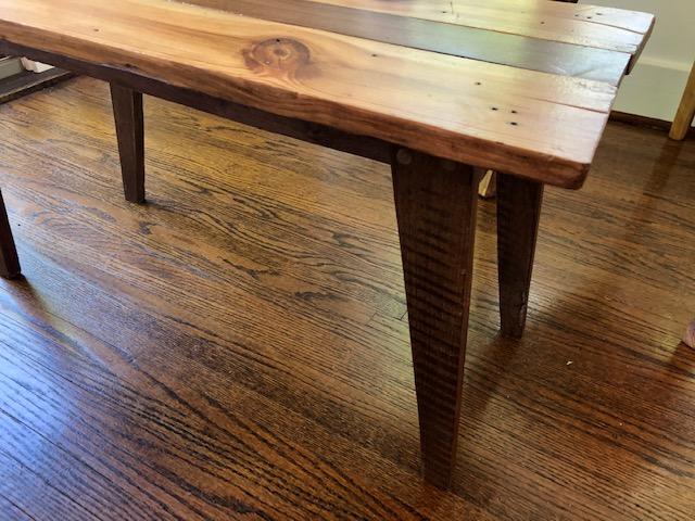 Heart Pine Barn Wood Table