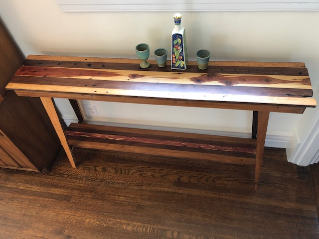 Full view Console table