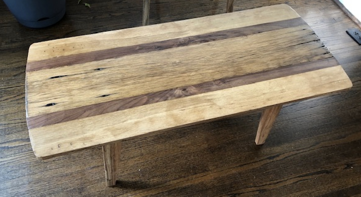 Barn wood occasional table