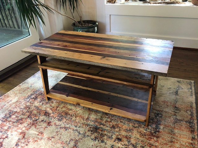2-Shelf Table for storage